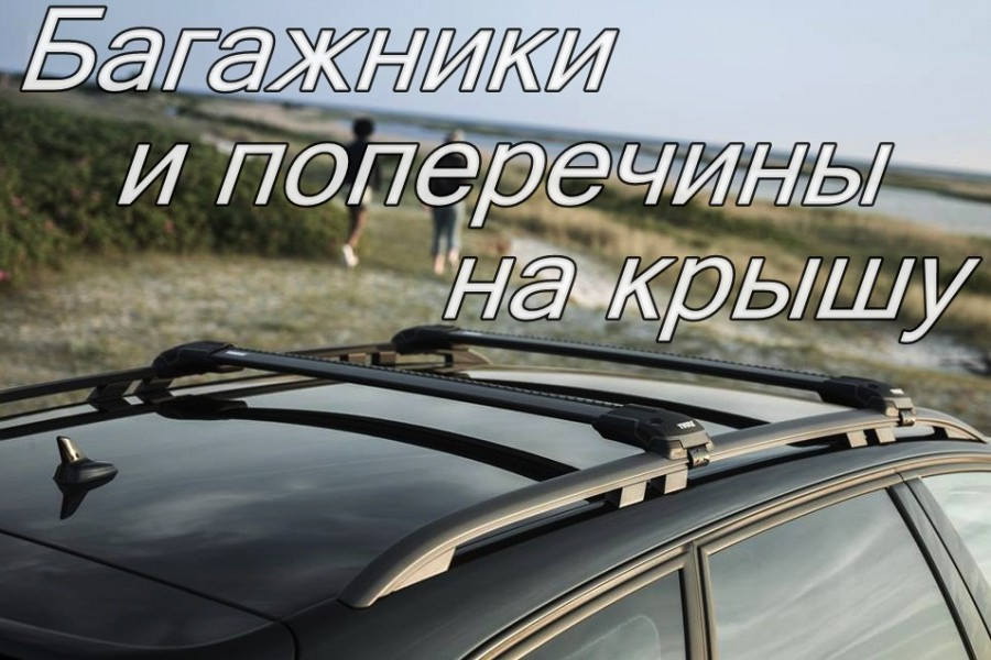 Багажники и поперечины Thule