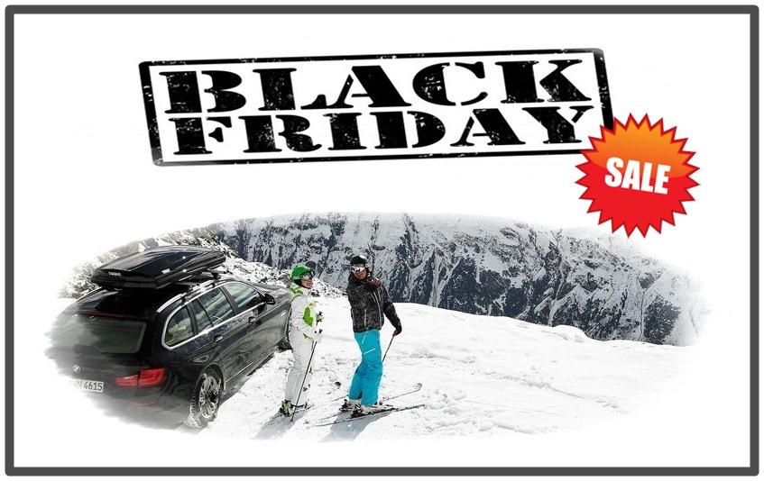 Черная Пятница – спеши купить со скидкой багажники Thule!