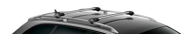 Багажник для автомобилей с рейлингами