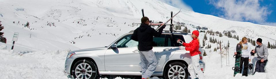 Багажники Thule для лыж и сноубордов
