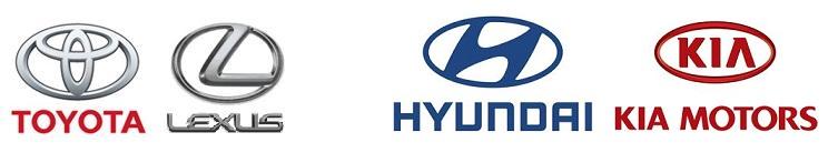 Оригинальные запчасти Toyota, Lexus, Kia, Hyundai